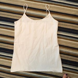 One white maternity tank top